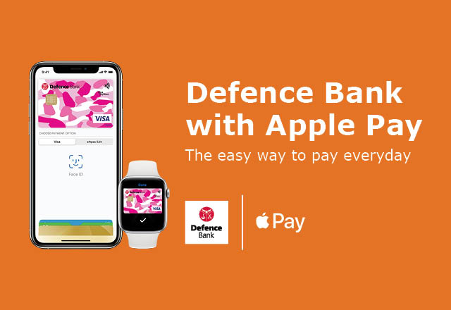Apple Pay banner.